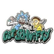 Rick and Morty Get Schwifty Lapel Pin