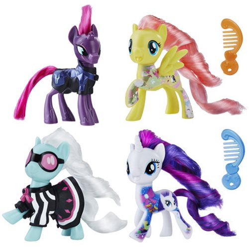 My Little Pony Friends Mini-Figures Wave 7 Set