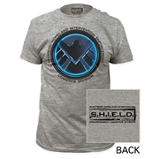Avengers Agents of S.H.I.E.L.D. Gray T-Shirt