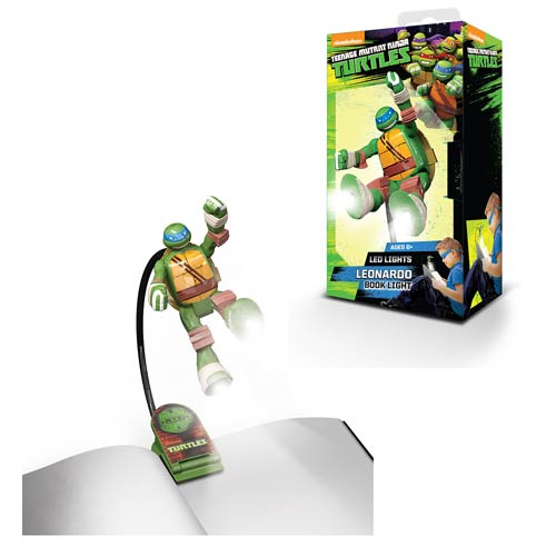 Nickelodeon Teenage Mutant Ninja Turtles Leonardo Book Light Flashlight
