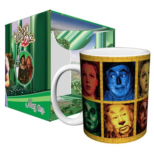 Wizard of Oz Four Characters 11 oz. Mug