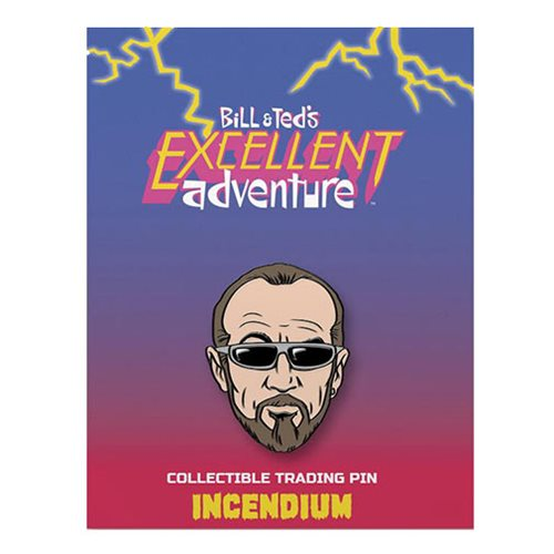 Bill & Ted`s Excellent Adventure Rufus Lapel Pin
