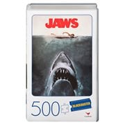 Jaws Retro Blockbuster VHS Video Case 500-Piece Puzzle