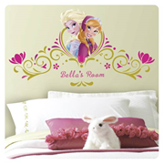 Disney Frozen Spring Time Custom Headboard Giant Wall Decals