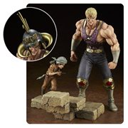Hokuto no Ken Holy Emperor Souther-sama with Kid 1:8 Scale Statue