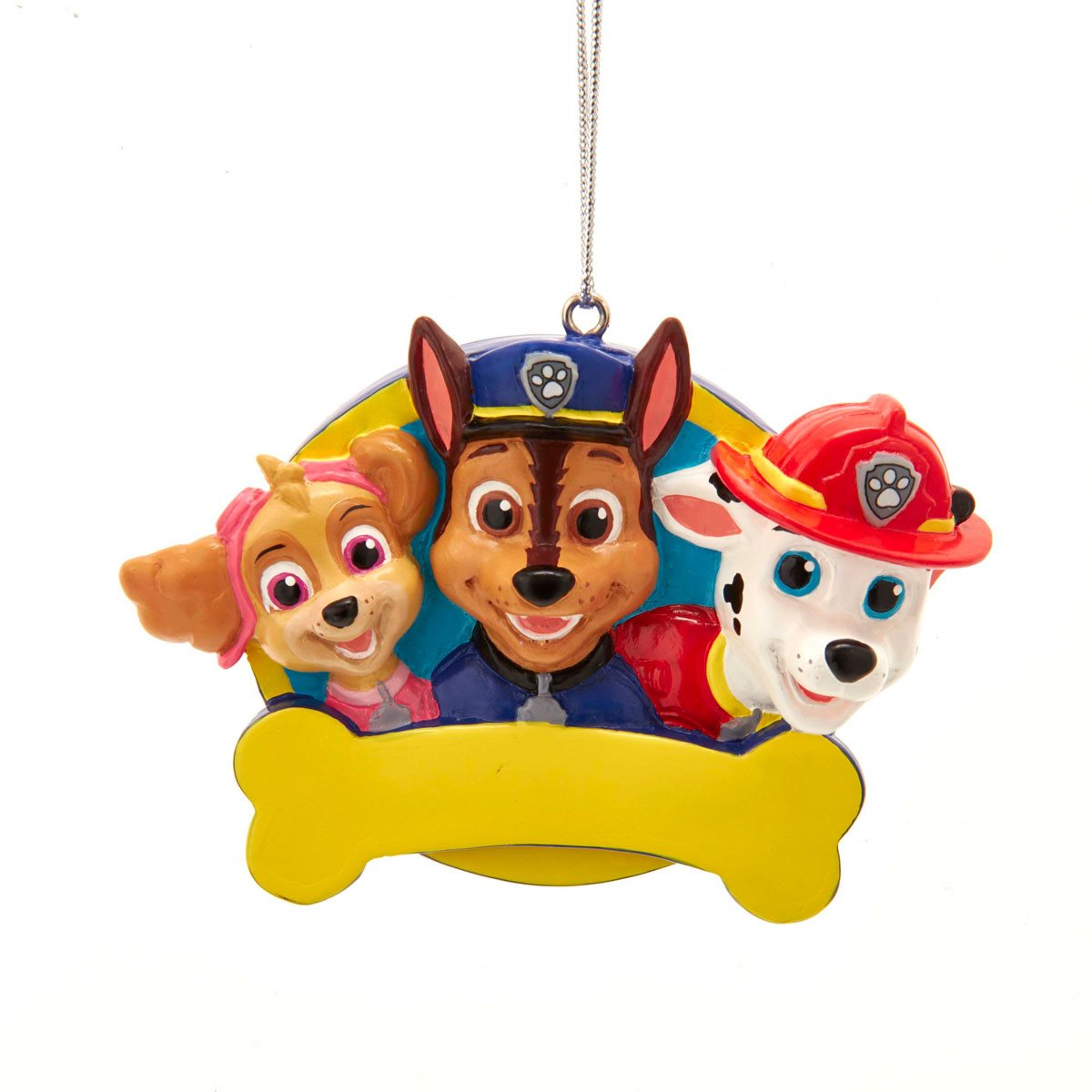 Paw Patrol Christmas Ormament Dated 2020 PAW Patrol Personalization 3 1/4 Inch Ornament