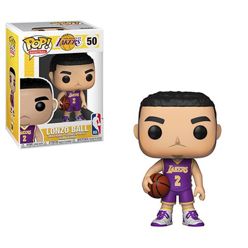 NBA Lonzo Ball Lakers Pop! Vinyl Figure #50