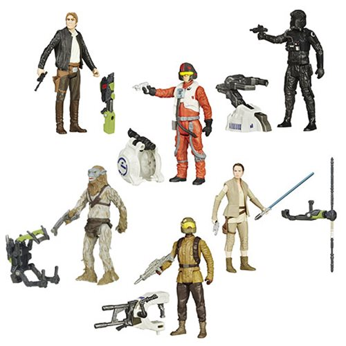 Star Wars: The Force Awakens 3 3/4-Inch Jungle and Space Action Figures Wave 4 Case