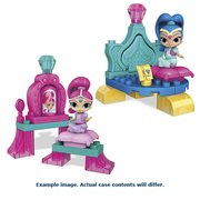 Mega Bloks Shimmer and Shine Genie Dreams Playset Case
