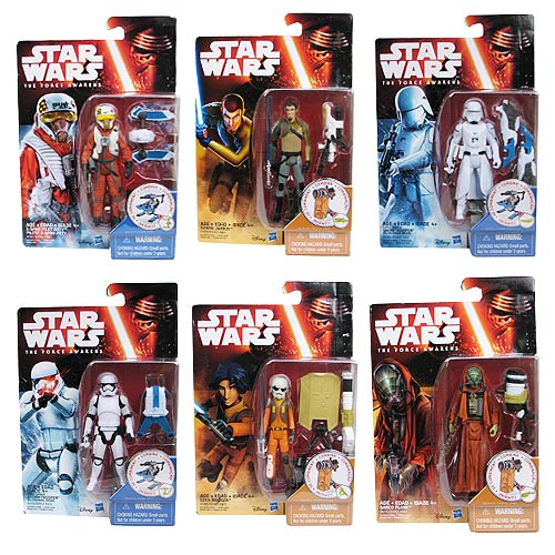 Star Wars: The Force Awakens 3 3/4-Inch Snow and Desert Action Figures Wave 2 Case