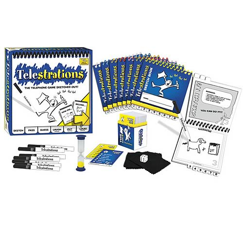 Telestrations 12-Player Party Pack Game