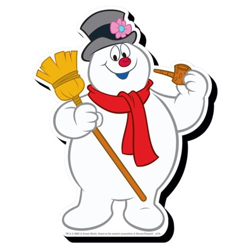 Frosty the Snowman Funky Chunky Magnet