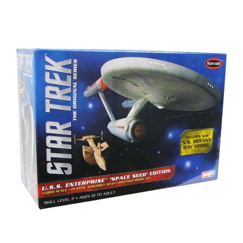 Star Trek USS Enterprise Space Seed Edition 1:1000 Scale Snap-Fit Model Kit