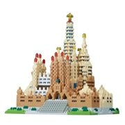 Sagrada Familia Deluxe Edition Nano Blocks Constructible Figure