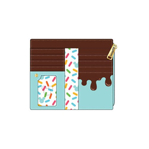 Mickey and Minnie Mouse Sweets Flap Wallet