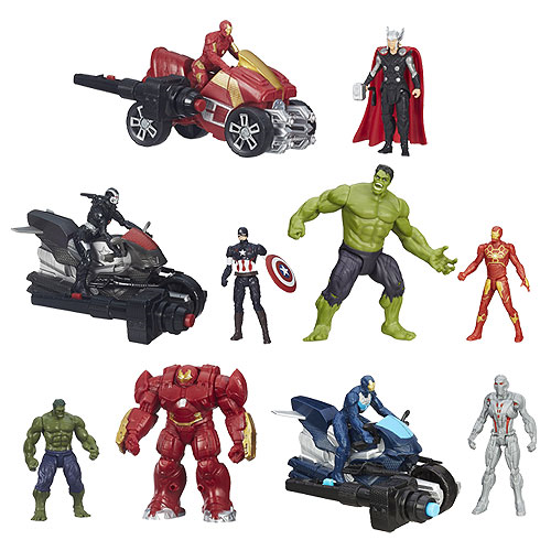 Avengers: Age of Ultron 2 1/2-Inch Deluxe Figures Wave 2 Revision 1 Case