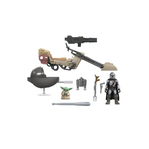 Star Wars Mission Fleet Expedition Class The Mandalorian The Child Battle for the Bounty Figures and