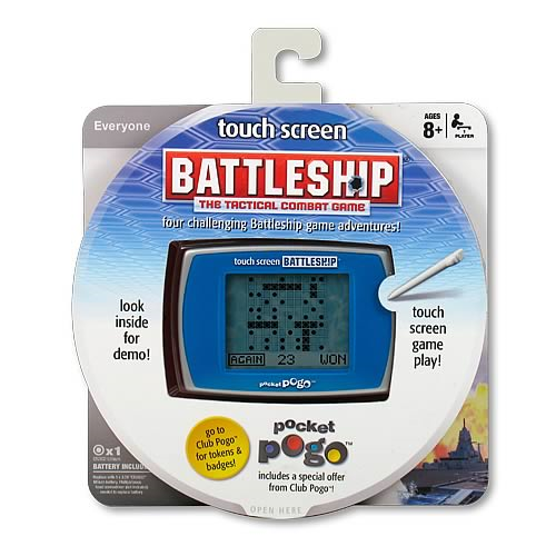 Battleship Touch Screen Pocket Pogo Game