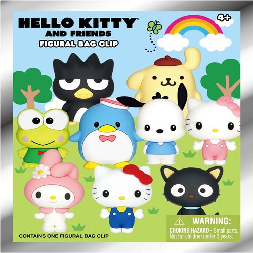 Hello Kitty Figural Key Chain Display Case