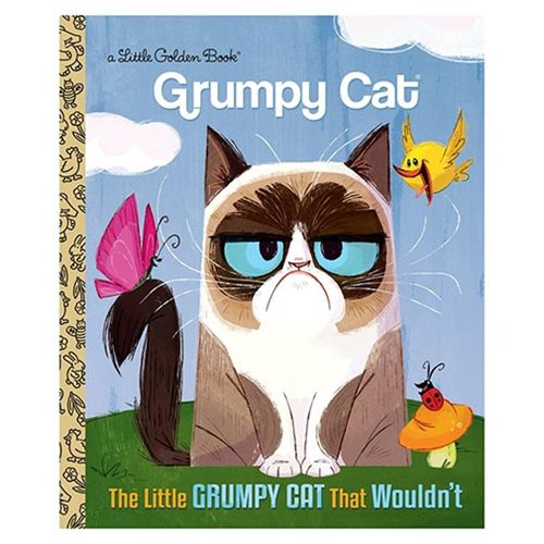 Grumpy Cat The Little Grumpy Cat that Wouldn't Little Golden Book