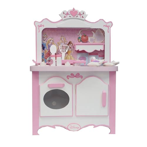 Disney Princess Royal Kitchen Wooden Play Set