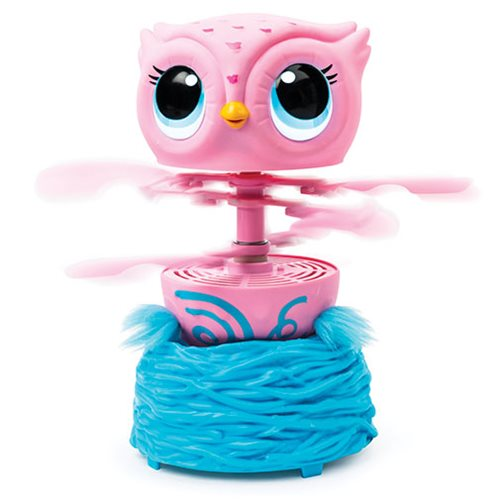 Owleez Pink Interactive Electronic Toy