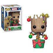 Marvel Holiday Groot with Lights Pop! Vinyl Figure #399