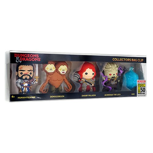 Dungeons & Dragons Bag Clip 3-Pack - San Diego Comic-Con 2019 Exclusive