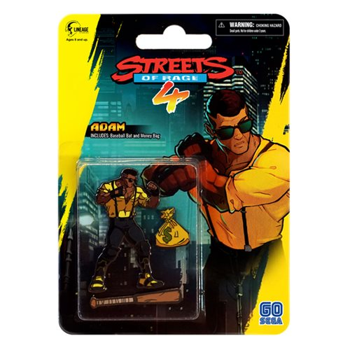 Streets Of Rage 4 Adam Hunter Side-Scroller Pin Set