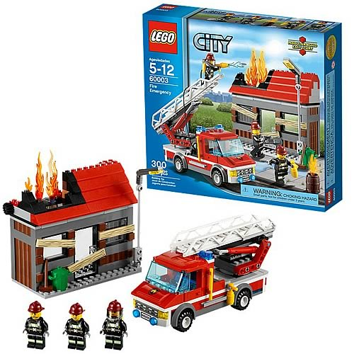 LEGO City 60003 Fire Emergency Set