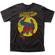 The Amazing Spider-Man Spotlight Black T-Shirt