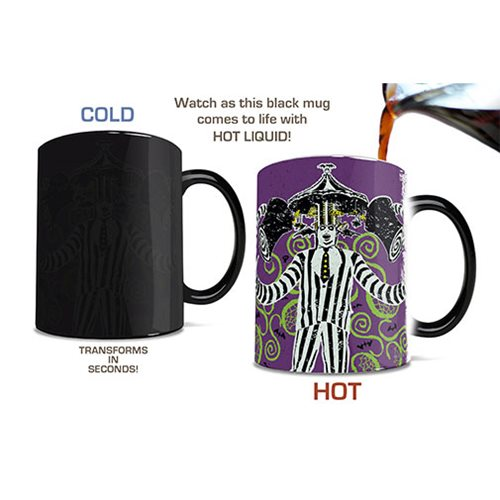 Beetlejuice The Ghost with the Most Heat-Sensitive Morphing Mug