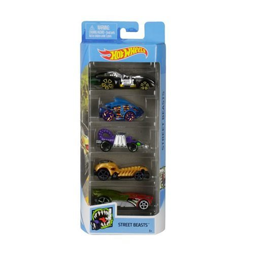 Hot Wheels 2020 5-Car Pack Wave 9 Case