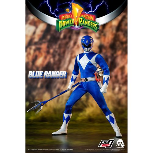Mighty Morphin Power Rangers Blue Ranger 1:6 Scale Action Figure