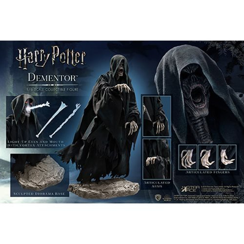 Harry Potter The Prisoner of Azkaban Dementor Deluxe 1:6 Scale Action Figure