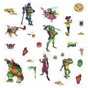Rise of the TMNT Peel and Stick Wall Decals
