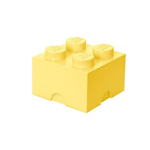 LEGO Cool Yellow Storage Brick 4
