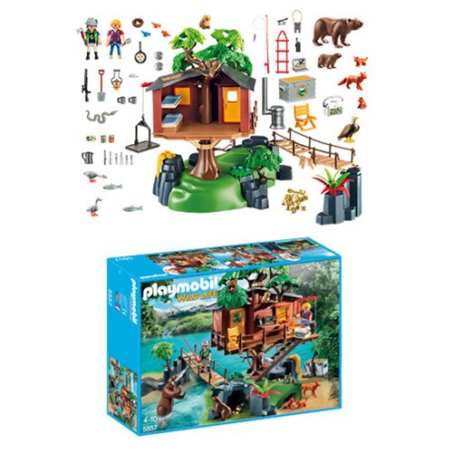 Playmobil 5557 Adventure Tree House Playset