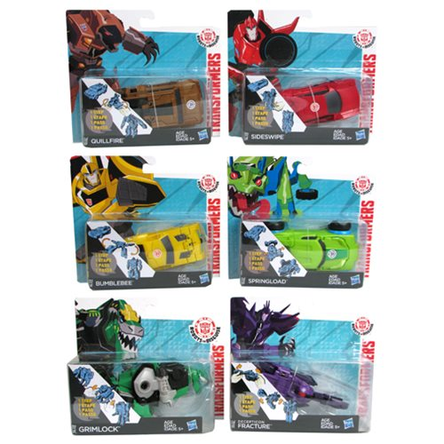 Transformers Robots in Disguise One-Step Changers Wave 8