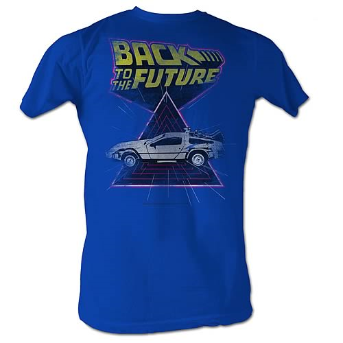 Back to the Future Speed Demon Blue T-Shirt