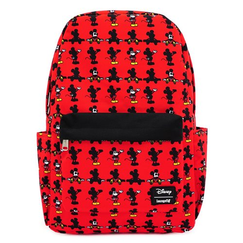 Mickey Mouse Classic Print Nylon Backpack