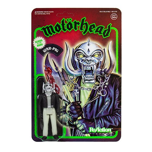 Motorhead War-Pig Glow in the Dark 3 3/4-Inch ReAction Figure