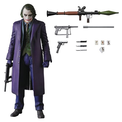 Dark Knight Rises Joker Version 2.0 MAFEX Action Figure