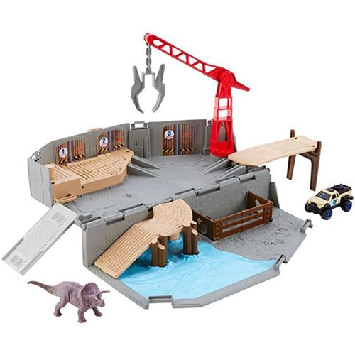 Jurassic World 2 Matchbox Portable Playset Case