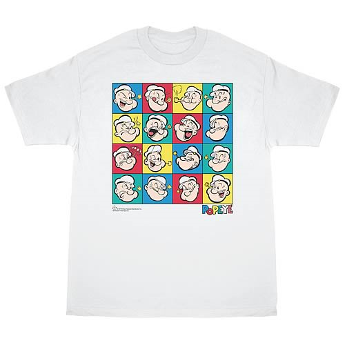 Popeye Color Block T-Shirt