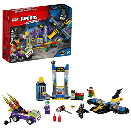 LEGO Juniors Super Heroes Batman 10753 Joker Batcave Attack