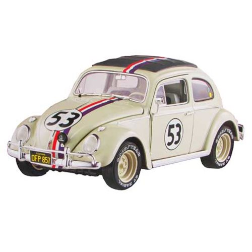 Herbie Goes to Monte Carlo Volkswagon Beetle 1:18 Scale Hot Wheels Elite Cult Classics Die-Cast Vehicle