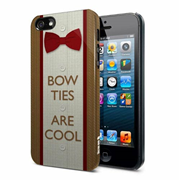 Doctor Who Bow Ties Are Cool iPhone 5 and 5S Hard Cover