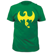 The Invincible Iron Fist Dragon Logo Green T-Shirt