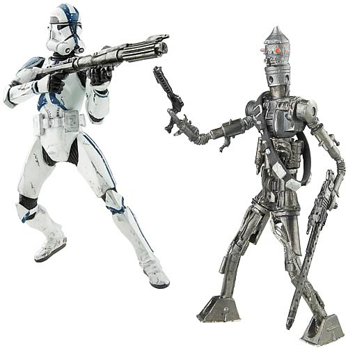 Star Wars Titanium Series Figures Wave 3 Set